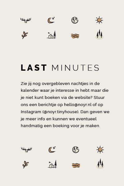 Last minutes   NOYR tiny house   weekendje weg   Veluwe