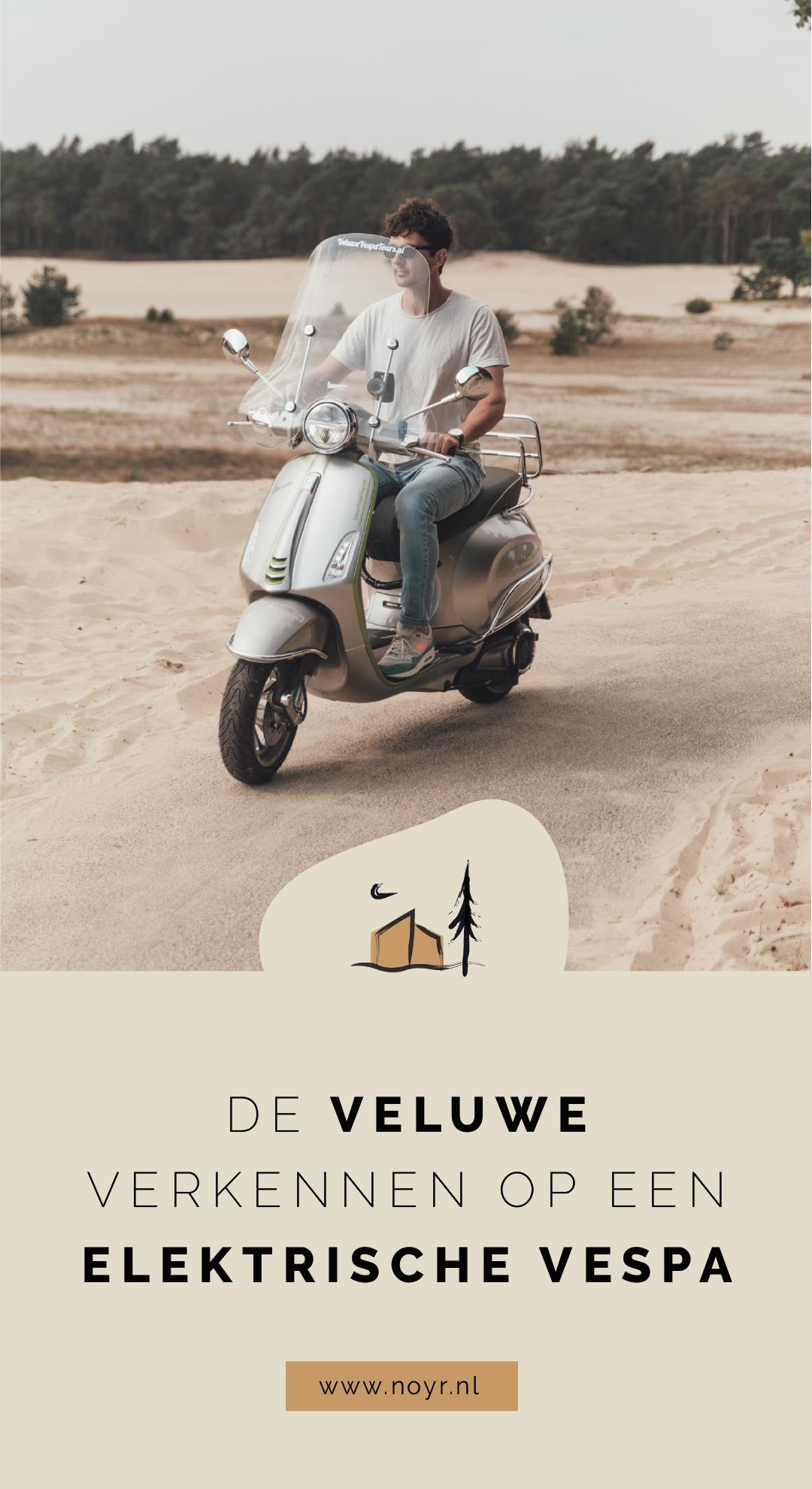 Elektrische Vespa   Vespa Elettrica   Veluwe   Nunspeet   Veluwe Vespa Tours