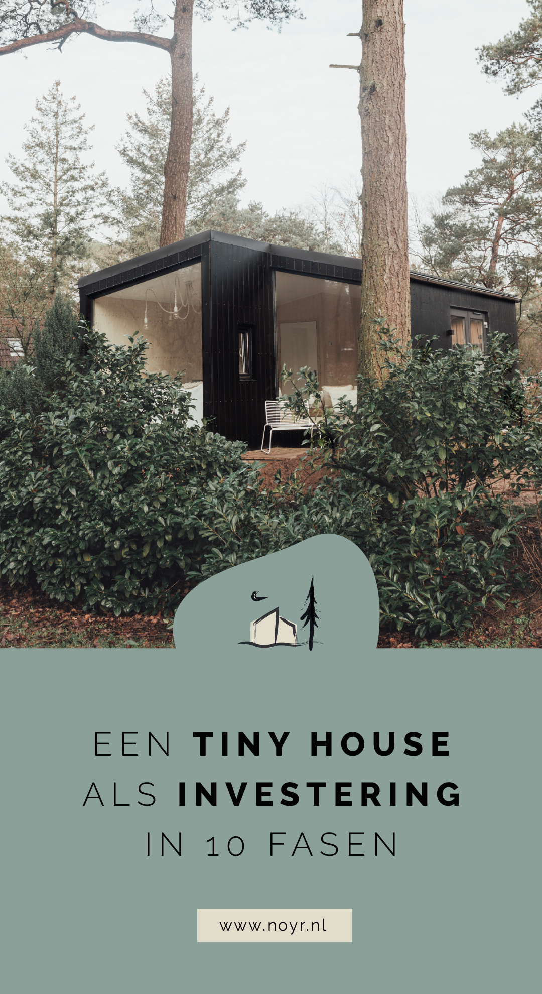 Tiny house als investering | Tiny house belegging | Tiny house vakantiewoning | Tiny house kavel | Veluwe | Zelf een tiny house bouwen