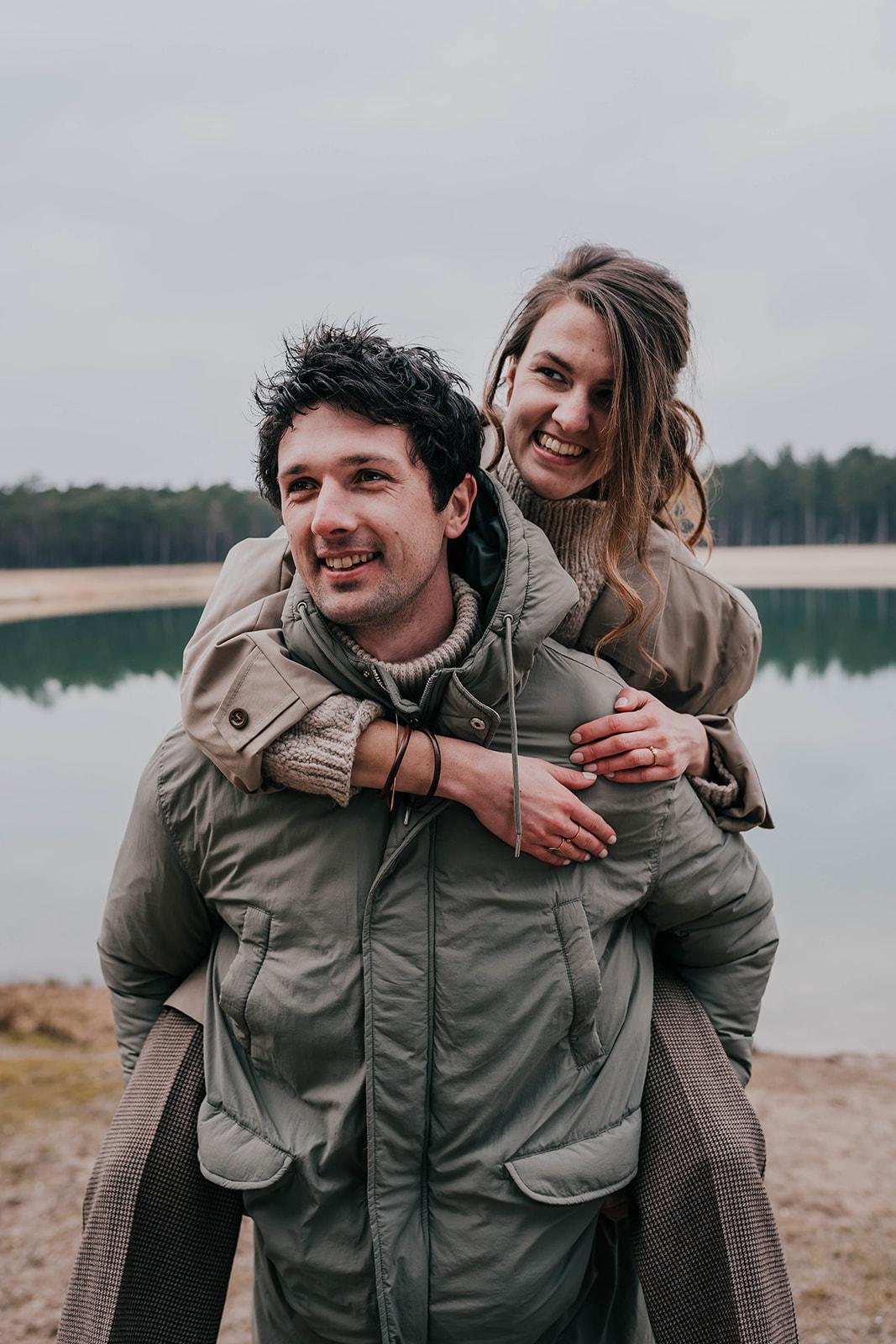 Marc en Nikkie - Zandenplas - hosts Noyr tiny house - foto door Zus fotografie