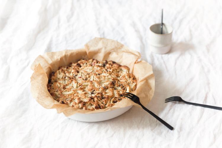 NOYR tiny house recept | Appel Ontbijtcake